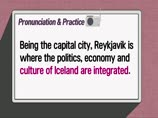 Listening 609. culture of Iceland are integrated & A cute clutter of buildings